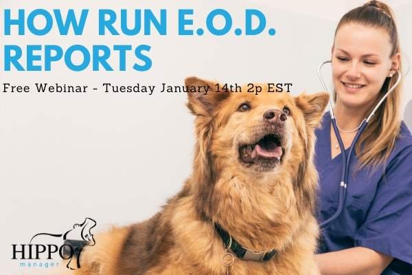 January 2020 free training webinars how to run end of day reports