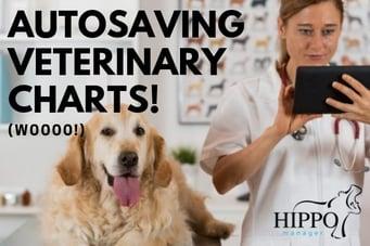 autosaving veterinary charts