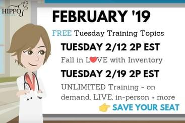 february 2019 free tuesday training topics