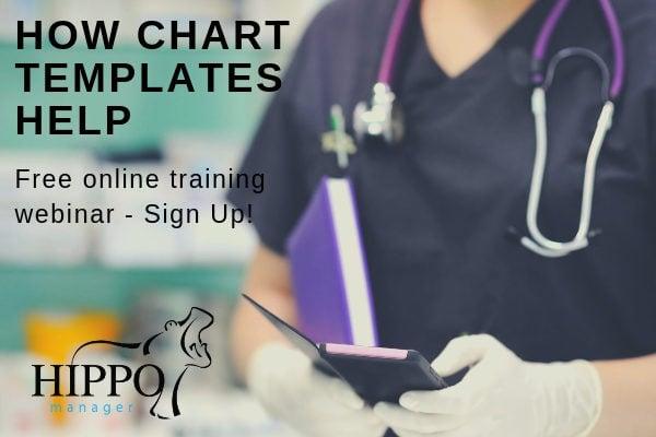 how chart templates help online training webinar