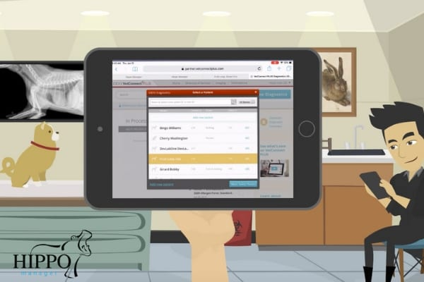 idexx lab integrated veterinary software hippo manager ipad