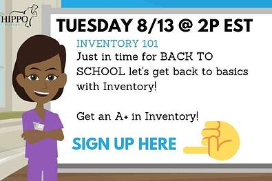 inventory 101 free training veterinary software webinar august 2019