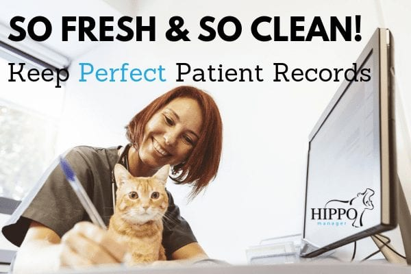manage and maintain perfect veterinary patient records
