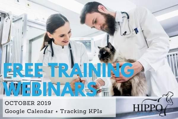 october 2019 free training webinars veterinary software