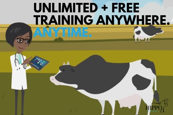 unlimited free veterinary software training