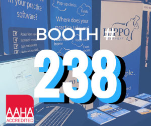 AAHA Hippo Manager Booth