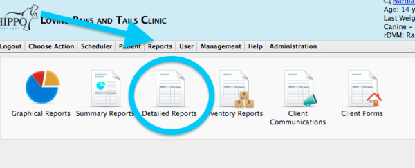 important end of day reports in your veterinary software