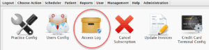 user access levels veterinary software
