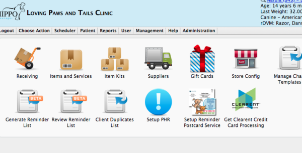 vaccinations and veterinary software