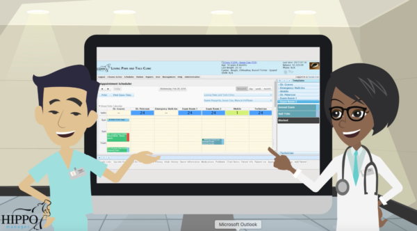 veterinary software appointment scheduler