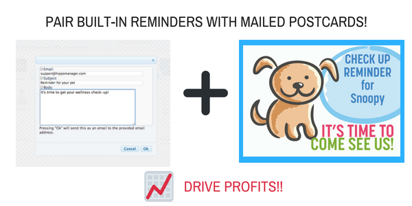 veterinary software tools to drive profits reminders