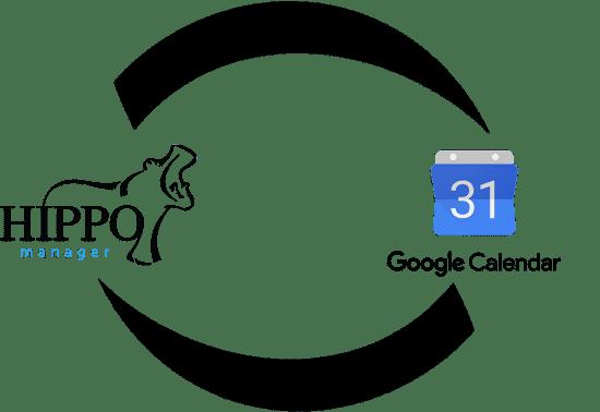 Hippo Manager Google Calendar Integration