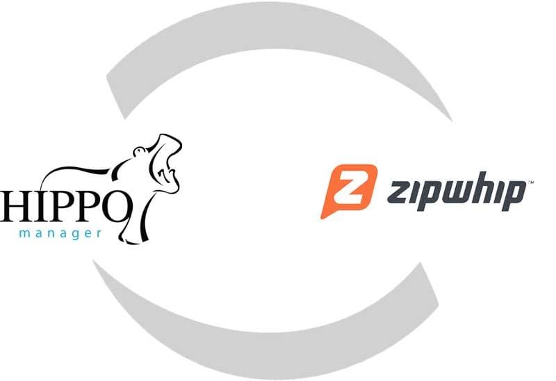 Hippo and Zipwhip Logos