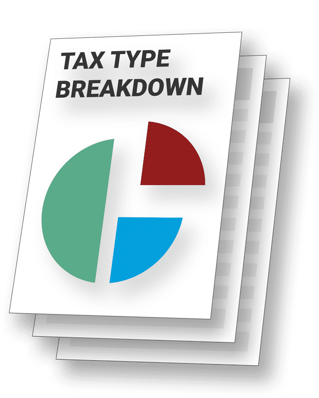 Hippo Manager Tax Type Breakdown Report