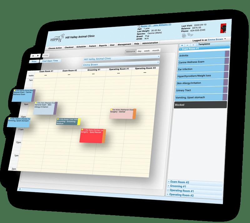 Hippo Manager Scheduler Screenshot